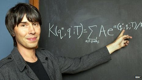 Scientist Professor Brian Cox