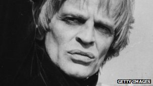 Klaus Kinski in an undated image