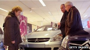 Citroen showroom in France