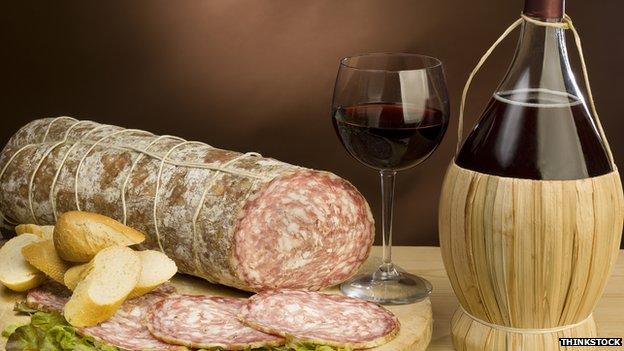 Italian salami