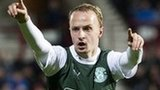 Striker Leigh Griffiths is on loan at Hibernian