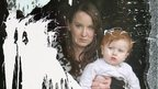 Alliance councillor Christine Bower with her 17 month old daughter Grace, at their home in Bangor, County Down