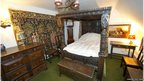 An early 17th Century four-poster bed