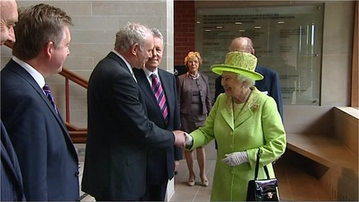 Martin McGuinness meets HM Queen
