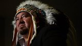 Grand Chief Derek Nepinak of the Assembly of Manitoba Chiefs in Ottawa, Canada 10 January 2013