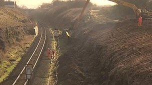 Work to redouble the Kemble to Swindon railway line has begun