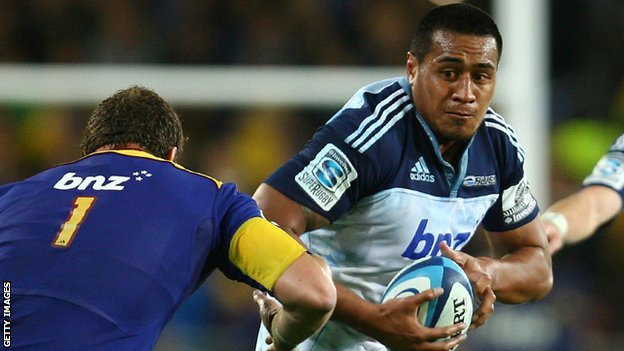Filo Paulo has played for the Blues in New Zealand