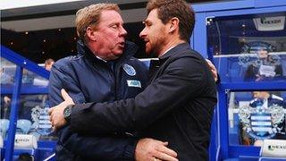 Harry Redknapp and Andre Villas-Boas