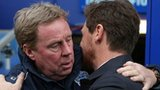 QPR boss Harry Redknapp (left) and Tottenham manager Andre Villas-Boas