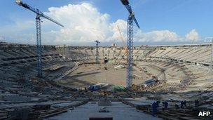 Maracana stadium Dec 2012