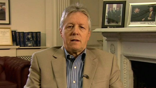 Northern Ireland First Minister Peter Robinson on The Andrew Marr Show