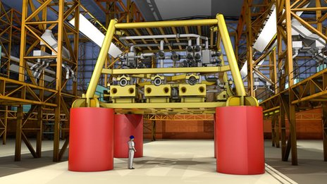 The subsea structures which will be built by Babcock