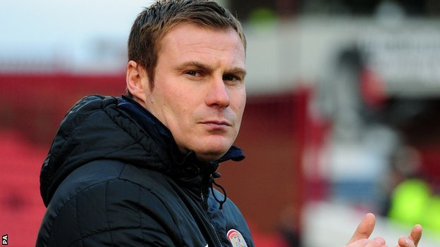 New Barnsley manager David Flitcroft