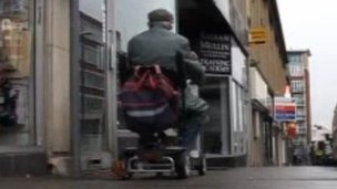 Mobility scooter in Derby