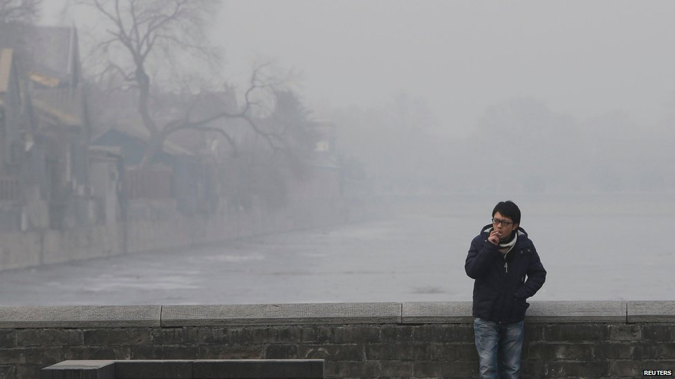 Bbc News In Pictures Beijing Pollution