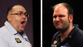 Tony O'Shea and Scott Waites