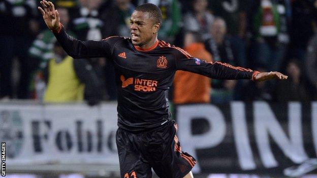 Marseille striker Loic Remy
