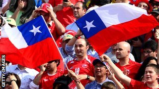Chile supporters
