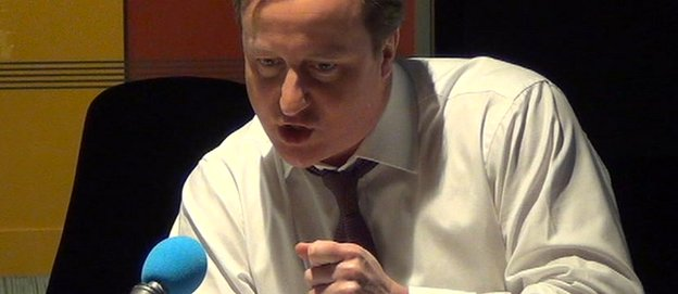 David Cameron on BBC Radio 4's Today