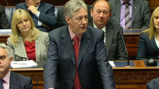 NI First Minister Peter Robinson