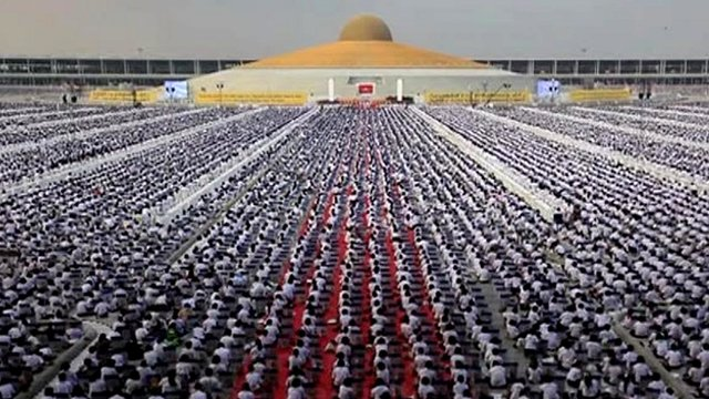 'One Million Children' Meditate Together in Annual Event