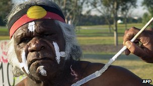 Aboriginal man
