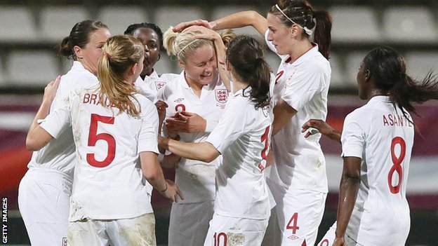 England women's team