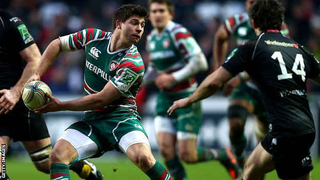 Leicester scrum-half Ben Youngs in action for Leicester in the 15-15 draw with Ospreys that set up a winner-takes-all clash with Toulouse on Sunday