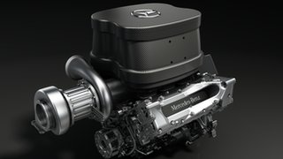 New Mercedes engine