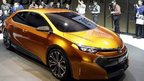 Toyota unveils its Corolla Furia concept car at the Detroit motor show