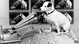 HMV&#039;s Nipper dog