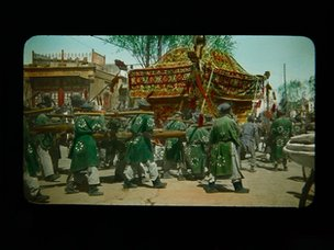 Funeral Procession in Peking, China