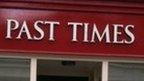 Past Times logo