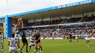 London Broncos at Gillingham