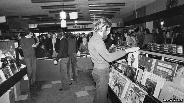 HMV in 1973