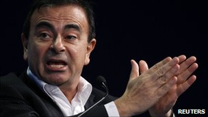 Renault chief executive Carlos Ghosn