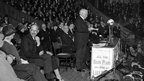 David Lloyd George addressing Liberal Party members at the Albert Hall, London, 1929 (Popperfoto/Getty Images)