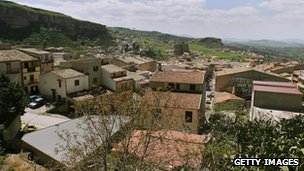File image of the town of Corleone