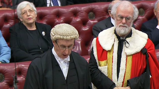 Rowan Williams becomes Baron Williams of Oystermouth