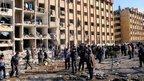 Deadly blasts at Syria university