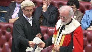 Rowan Williams becomes Baron Williams of Oystermouth in the House of Lords