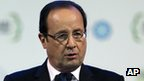 French President Francois Hollande (15 Jan 2013)