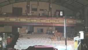 New Albany Theatre under renovation