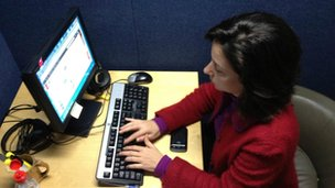 Kim Ghattas answering your questions on Twitter in the BBC Washington bureau