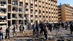 Aftermath of explosions on the University of Aleppo&#039;s campus (15 January 2013)