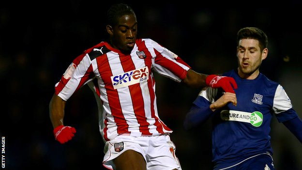 Clayton Donaldson scores to set up an FA Cup fourth-round tie with Chelsea