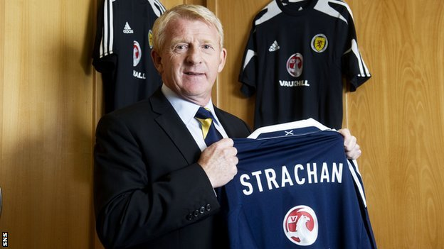New Scotland manager Gordon Strachan