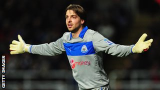 Newcastle keeper Tim Krul