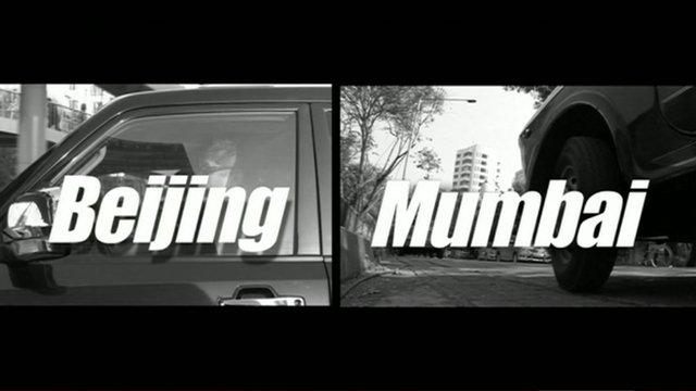 Beijing V Mumbai graphic