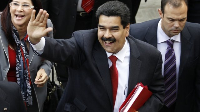 Venezuela&#039;s Vice President Maduro